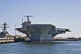 Fototapete Battleship - Zerstörer - Andere