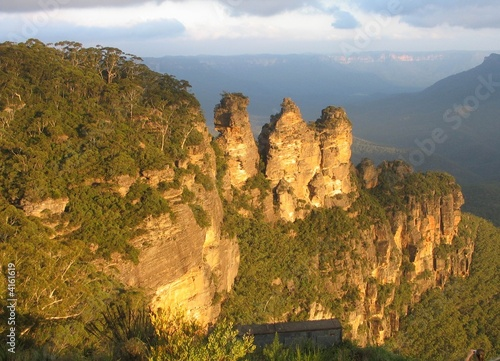 Three sisters in Blue mountains