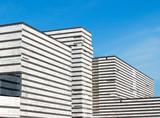 Modernist building poster