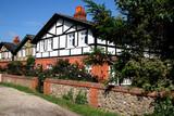 Timber Framed English Rural Cottages poster