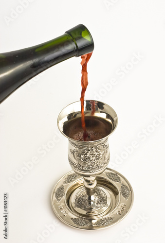 Shabbats wine in the cup