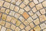 Stone pavement poster