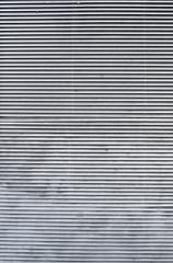 Horizontal metallic jalousie