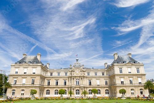 Paris famous castle. Wide angle view. t-shirt