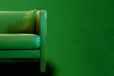 Gorgeous Green sofa