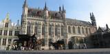 bruges - Hôtel de ville poster