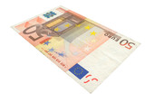 50 Euro banknote poster