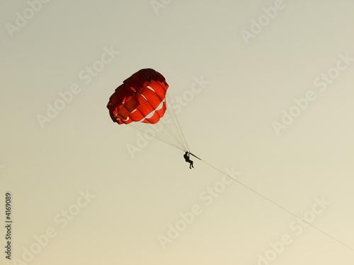 Leinwandbild Motiv Paragliding