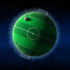 Planet of soccer