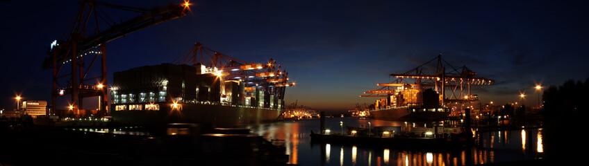 Container Terminal Panorama