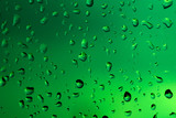 Abstract background made of water drops and glass