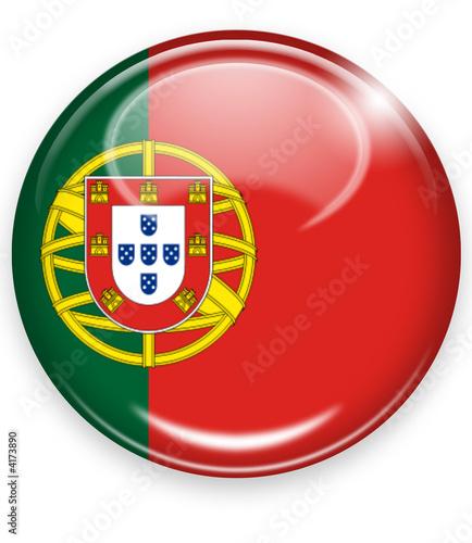 portugal button flagge
