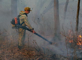 Suppression of Forest Fire 5