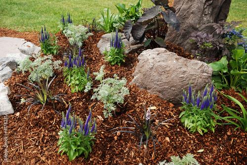 Plexiglas Tuin flower bed