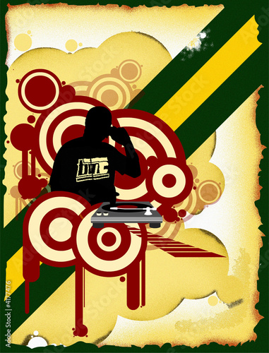 dj mixing the good music