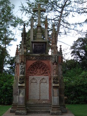 Tomb outside Rosslyn Chapel