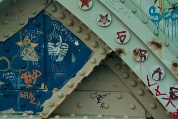 Artistic Grafitti on South street Bridge