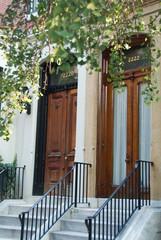 Wooden Victorian Door