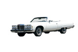Seventies Convertible Isolated poster