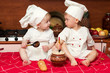 two funny cooks
