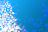 Sparkles, stars and snowflakes poster