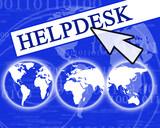 virtual helpdesk poster
