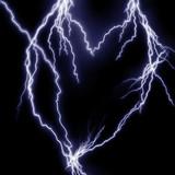 Lightning flashes poster