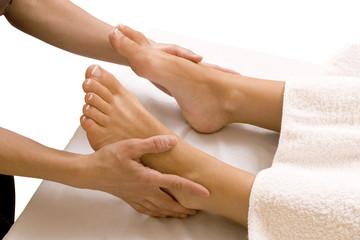 foot massage © e-pyton