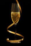 Champagne on Black