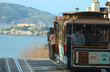 canvas print picture - San Francisco cable car