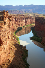 Above Lee's Ferry, Colorado River, Arizona