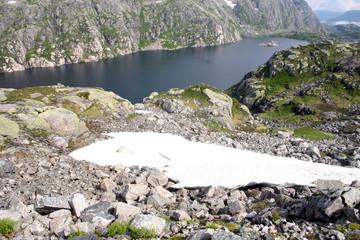 Hardangerfjell in Norwegen