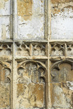 Carved Stonework on Medieval Church poster