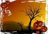 Halloween atmosphere poster