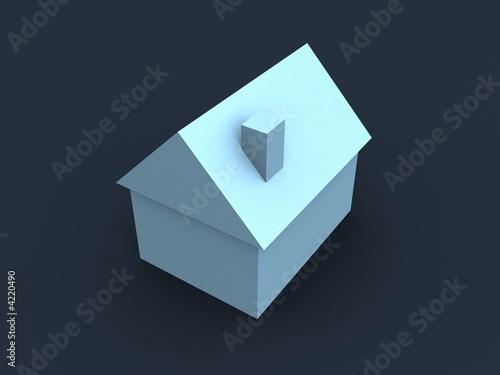 einfaches haus von sebastian kaulitzki lizenzfreies foto 4220490 auf. Black Bedroom Furniture Sets. Home Design Ideas