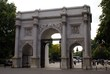 marble arch in the evening