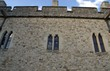 wall. windows. exterior of the tower of london