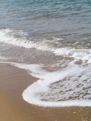 tranquil ocean tide