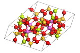beryl molecule poster
