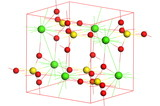 Anhydrite molecule poster