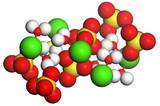 Gypsum molecule poster