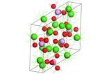 Apatite molecule poster