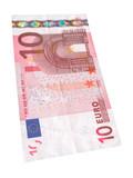 Ten Euro banknote #2 poster