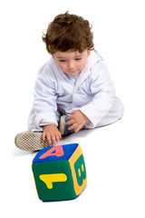 early learning boy