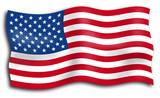 Fototapety drapeau américain