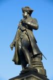 Captain Cook statue London poster
