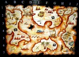 treasure map game poster