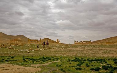 Palmyra, ruins