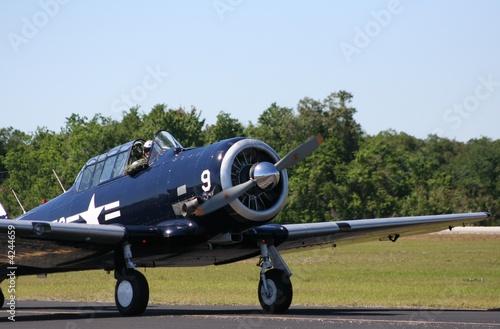 WWII-era Propeller Plane