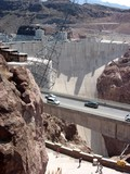 Hoover Dam - parking lot view 2